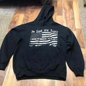 Tops - In God We Trust Fourth of July Hoodie / Sweatshirt